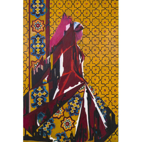 The Bakhtiari Woman in contemporary form