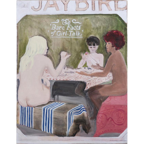 Artwork As naked as a jaybird Painting by artist Laura Badertscher