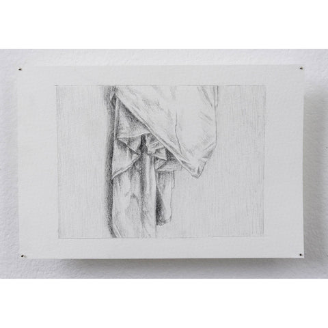 Artwork Drapery study Drawing by artist Olivia Arnold