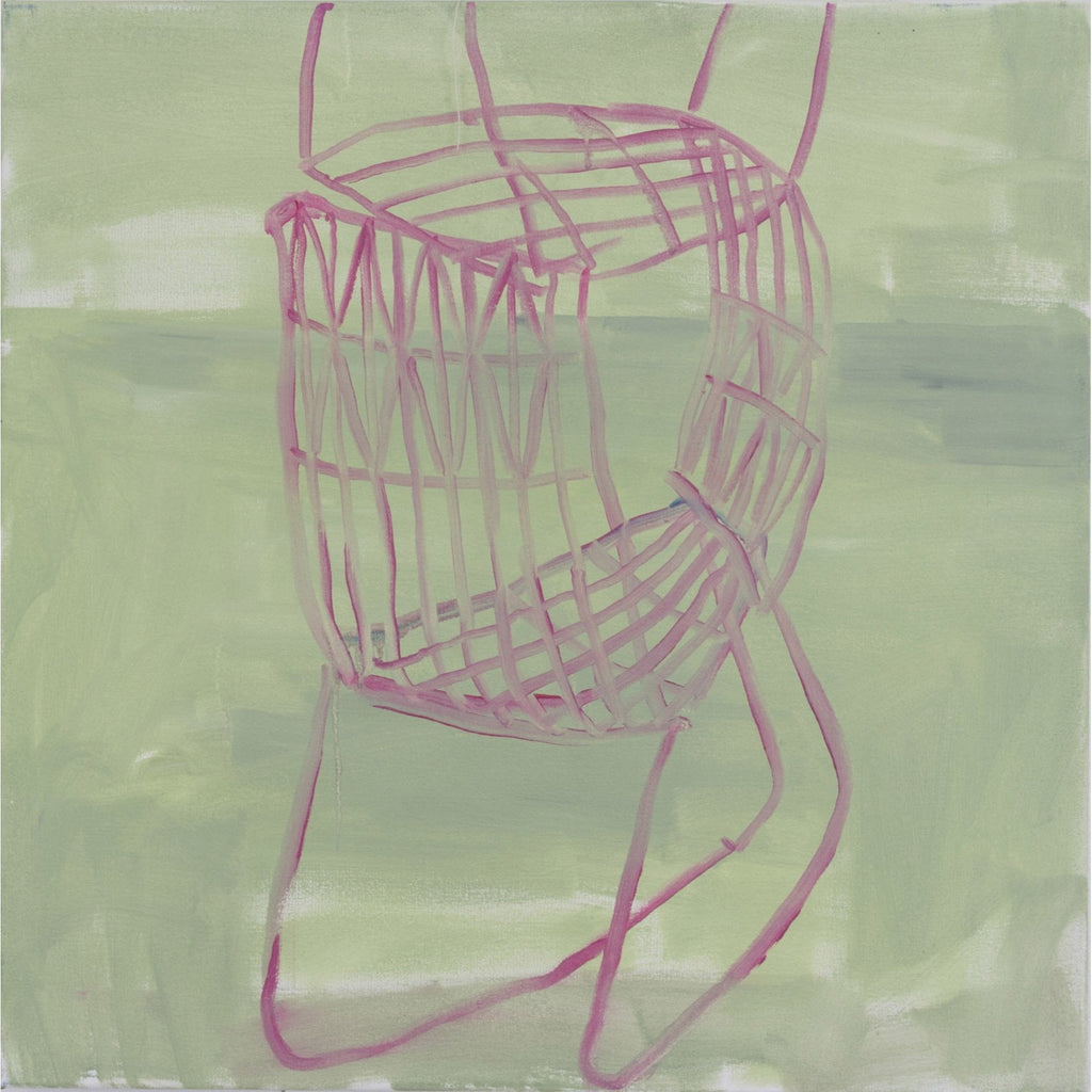 Artwork Pink chair 2 Drawing by artist Troy Donaghy
