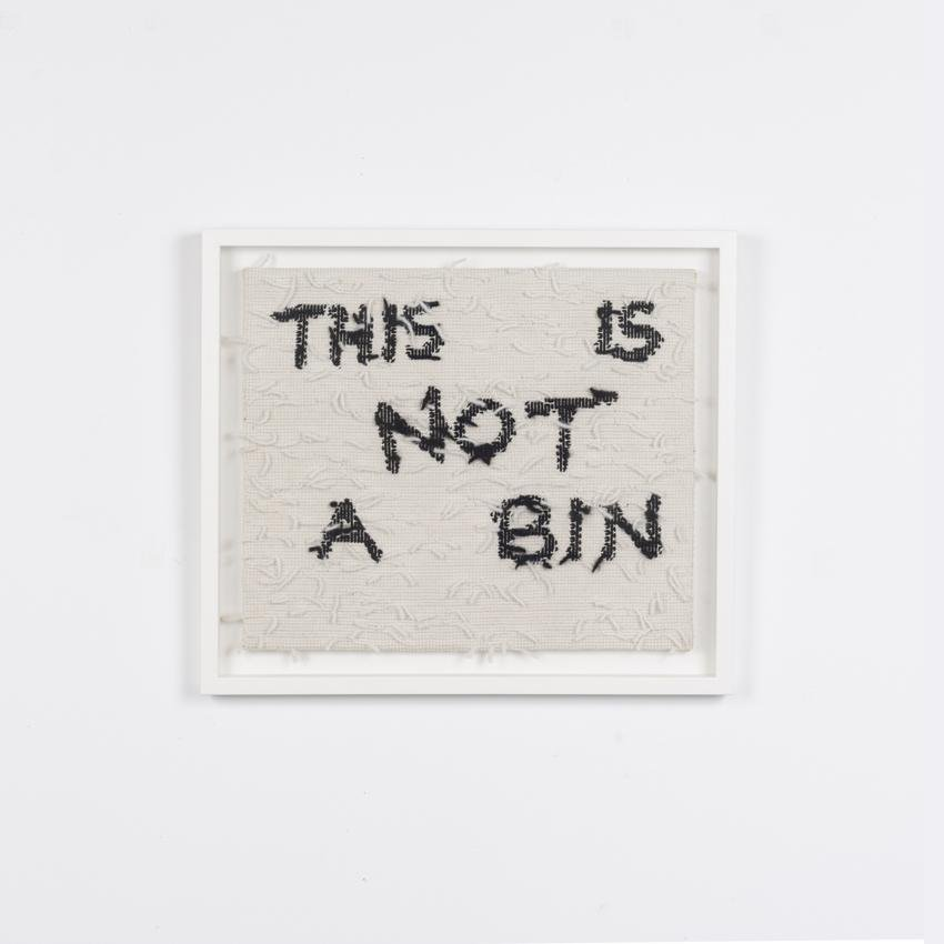 Artwork Not a Bin Printmaking by artist Sarah Edmondson