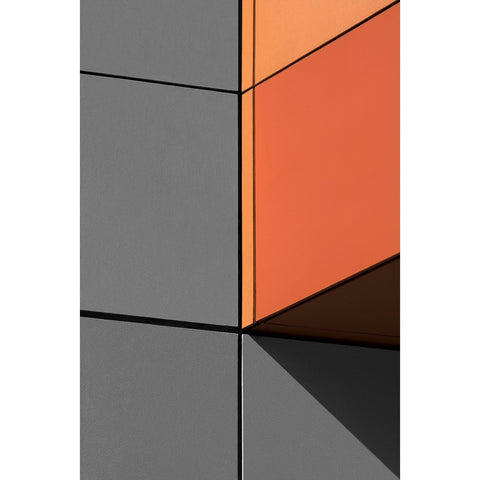 Artwork Orange and Grey Photomedia by artist Jon Setter