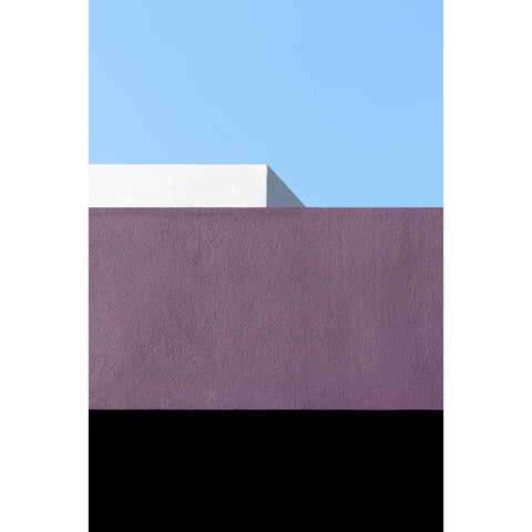 Artwork Purple with Black, White and Blue Photomedia by artist Jon Setter