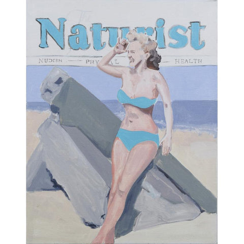 Artwork The Naturist Painting by artist Laura Badertscher