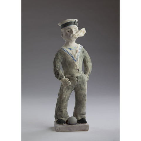 Artwork Whistling sailor 2018 Ceramics by artist Sassy Park
