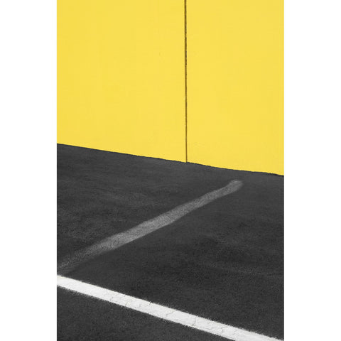 Artwork Yellow and Black with White Photomedia by artist Jon Setter