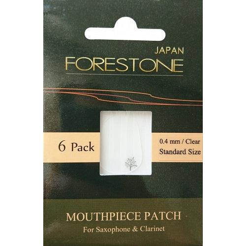 Forestone Mouthpiece 0,4mm Small Size Transparent 6er Pack - Musik-Ebert Gmbh