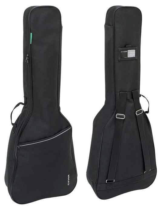 Gewa Konzert - Gitarrentasche Gig-Bag Basic 5 schwarz 1/4 - 1/8