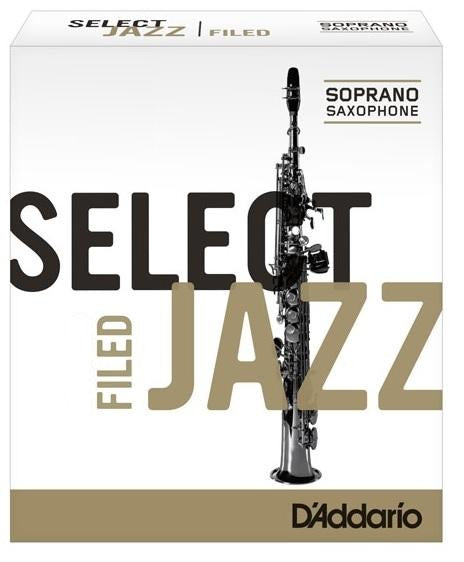 Rico Select Jazz Filed Sopran Saxophon Einzelblatt 2 Medium