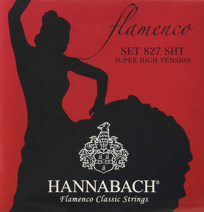 Hannabach Saitensatz für Konzertgitarren Serie 827 SHT Super High Tension Flamenco