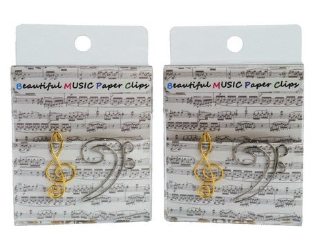 Beautiful Music Paper Clips
