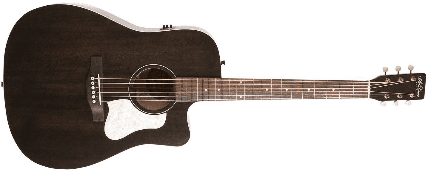 Art & Lutherie Americana Westerngitarre Faded Black CW QIT