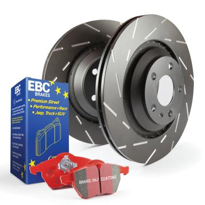 EBC Redstuff and USR rotors Front (03-06 MDX)-SAIKOSPEED