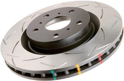 DBA (US Spec) Rear Slotted 4000 Series Rotor (13-18 86/BRZ/FRS)-SAIKOSPEED