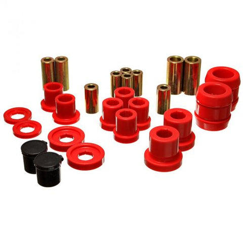 Energy Suspension Rear Control Arm Bushings: Red (00-09 S2000)-SAIKOSPEED