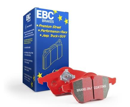 EBC Redstuff Rear Brake Pads (06-11 Civic Si)-SAIKOSPEED
