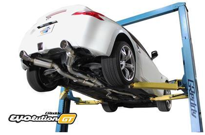 GReddy Evolution GT Full Dual Cat-Back Exhaust (09-20 370z)-SAIKOSPEED