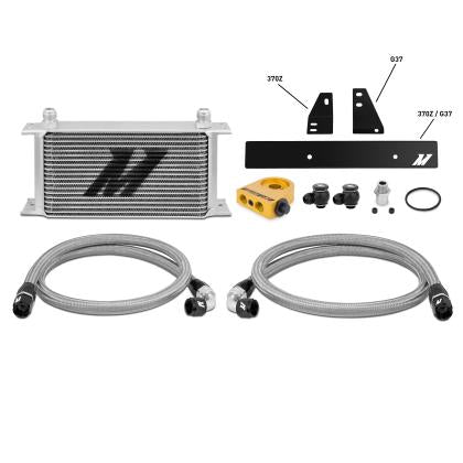Mishimoto Thermostatic Oil Cooler Kit (09-20 370z)-SAIKOSPEED