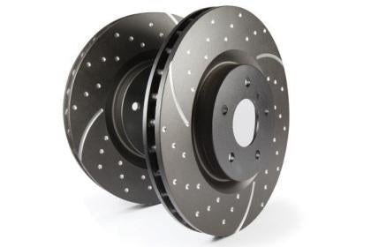 EBC GD Sport Rear Rotors (12-15 Civic Si)-SAIKOSPEED