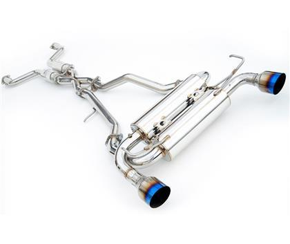 Invidia Gemini Rolled Stainless Steel Tip Cat-back Exhaust-SAIKOSPEED