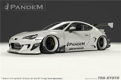 GReddy Pandem V3 Aero Kit without Wings - Special Order (13-18 86/BRZ/FRS)-SAIKOSPEED