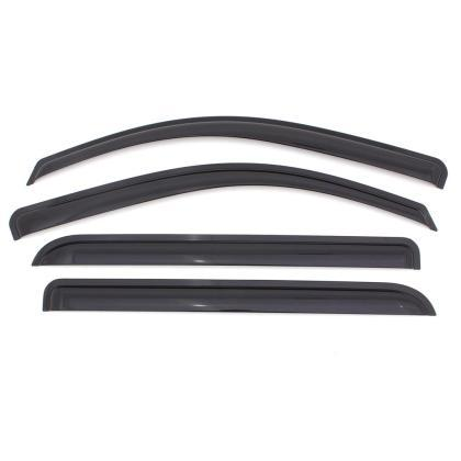 AVS Outside Mount Window Deflectors 4pc - Smoke (07-09 MDX)-SAIKOSPEED