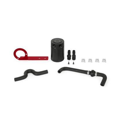 Mishimoto Baffled Oil Catch Can Kit - Red (17+ Type R)-SAIKOSPEED