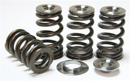 GSC P-D Single Beehive Spring SET Titanium Retainers/Chromoly Seats FA20 (13-18 86/BRZ/FRS)-SAIKOSPEED