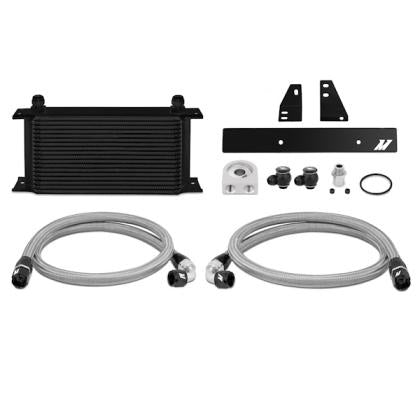 Mishimoto Oil Cooler Kit - Black (09-20 370z)-SAIKOSPEED