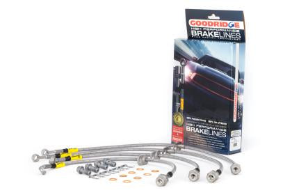 Goodridge F&R Stainless Steel Brake Lines (12-15 Civic Rear Disk exl Si)-SAIKOSPEED