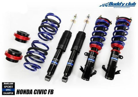 Buddy Club Sport Spec Coilovers (12-15 Civic)-SAIKOSPEED