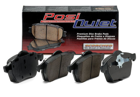 Centric Premium Metallic Rear Brake Pads (06-11 Civic Si)-SAIKOSPEED