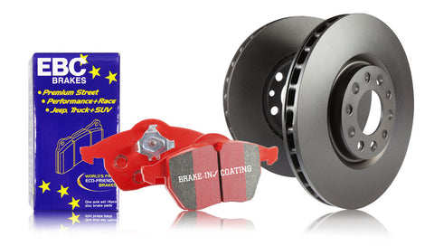 EBC Front Redstuff Brake Pads and RK Rotors (00-09 S2000)-SAIKOSPEED