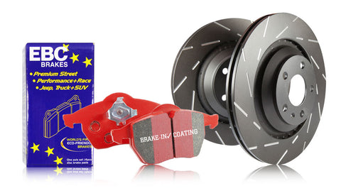 EBC Front Redstuff Brake Pads and USR Rotors (00-09 S2000)-SAIKOSPEED
