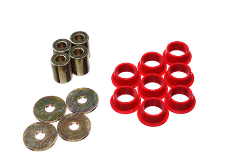 Energy Suspension Red Rack and Pinion Bushings (00-09 S2000)-SAIKOSPEED