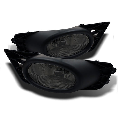 Spyder Sedan Foglight Kit: Smoke (09-11 Civic Si)-SAIKOSPEED