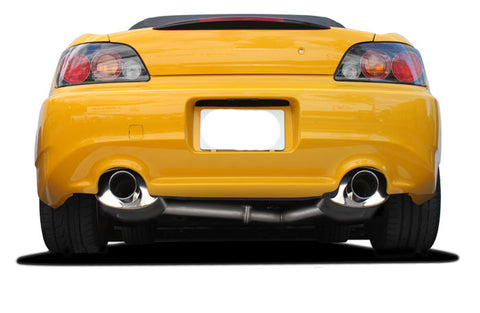 GReddy Supreme SP Cat-Back Dual Exhaust (00-09 S2000)-SAIKOSPEED