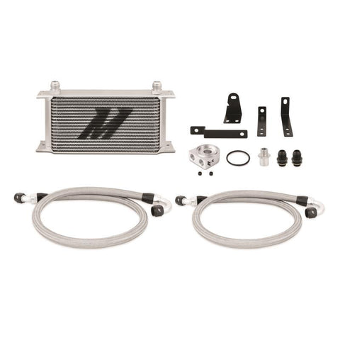 Mishimoto Silver Thermostatic Oil Cooler Kit (00-06 S2000)-SAIKOSPEED