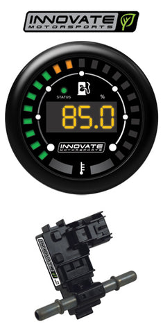 Innovate MTX-D Ethanol Content & Fuel Temp Complete Gauge Kit (Various)-SAIKOSPEED