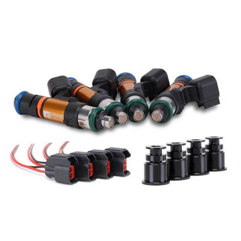 Grams Performance 550cc Fuel Injectors (00-05 S2000)-SAIKOSPEED