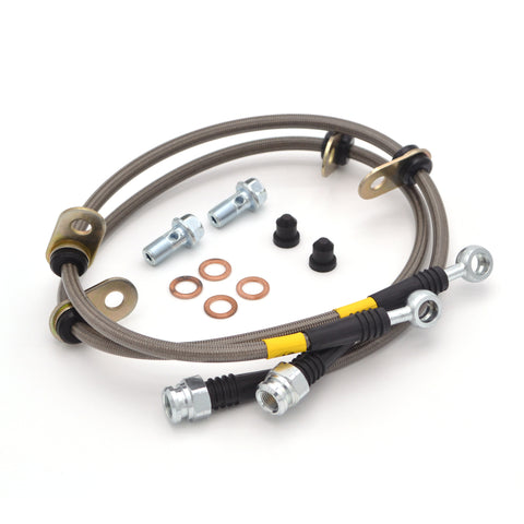 StopTech Stainless Steel Brake Lines: Front (00-05 S2000)-SAIKOSPEED