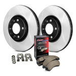 StopTech Front Select Drilled/Slotted Rotor and Pad Kit (00-09 S2000)-SAIKOSPEED