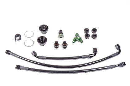 Radium Engineering Nissan Fuel Rail Plumbing Kit (09-20 370z)-SAIKOSPEED