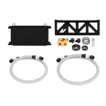 Mishimoto Thermostatic Oil Cooler Kit Black OR SIlver (13-18 86/BRZ/FRS)-SAIKOSPEED