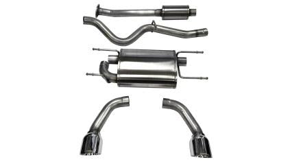 Corsa Polished Sport Cat-Back Exhaust (13-19 86/BRZ/FRS)-SAIKOSPEED