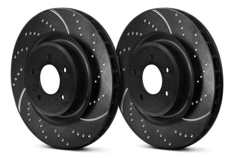 EBC GD Series Sport Rear Rotors (06-11 Civic Si)-SAIKOSPEED