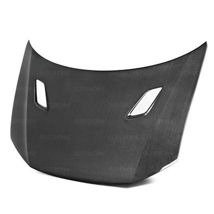 Seibon MG Style Carbon Fiber Hood (12-15 Civic)-SAIKOSPEED