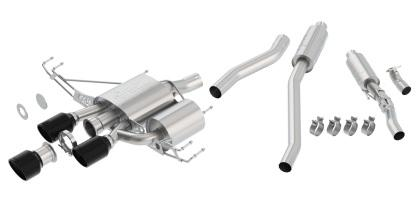 Borla ATAK Cat-Back Exhaust w/ Ceramic Black Tips (17+ Type R)-SAIKOSPEED