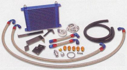 GReddy Twin Circuit Spec 13 Row Oil Cooler - Special Order (09-20 370z)-SAIKOSPEED