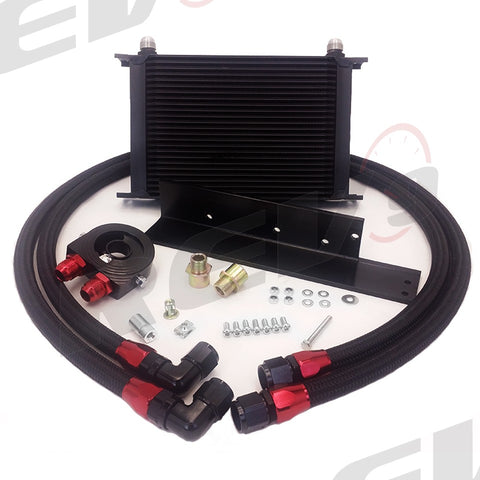 REV9POWER Oil Cooler Kit (09-20 370z)-SAIKOSPEED